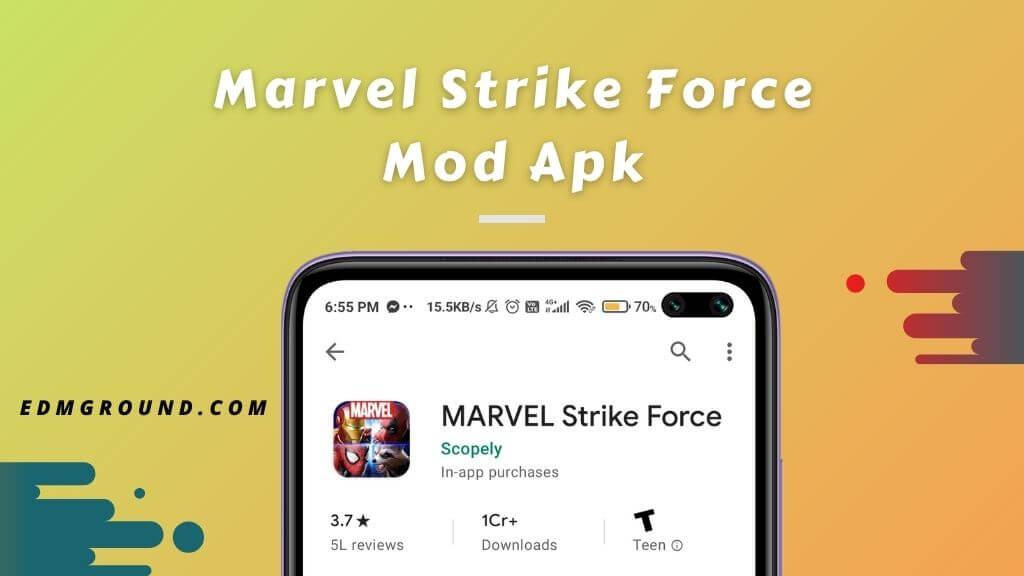 Marvel Strike Force Mod Apk (v5.3.0) Download (Unlimited Money)